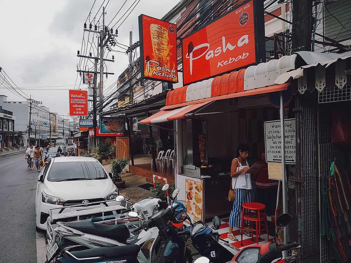 Pasha Kebab, Karon Beach, Phuket, Thailand