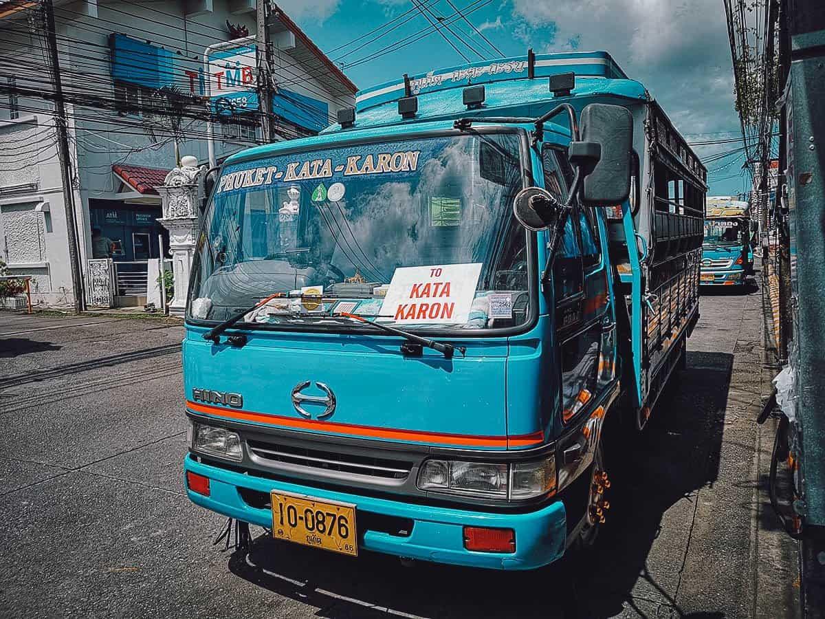 Phuket Local Beach Bus, Thailand
