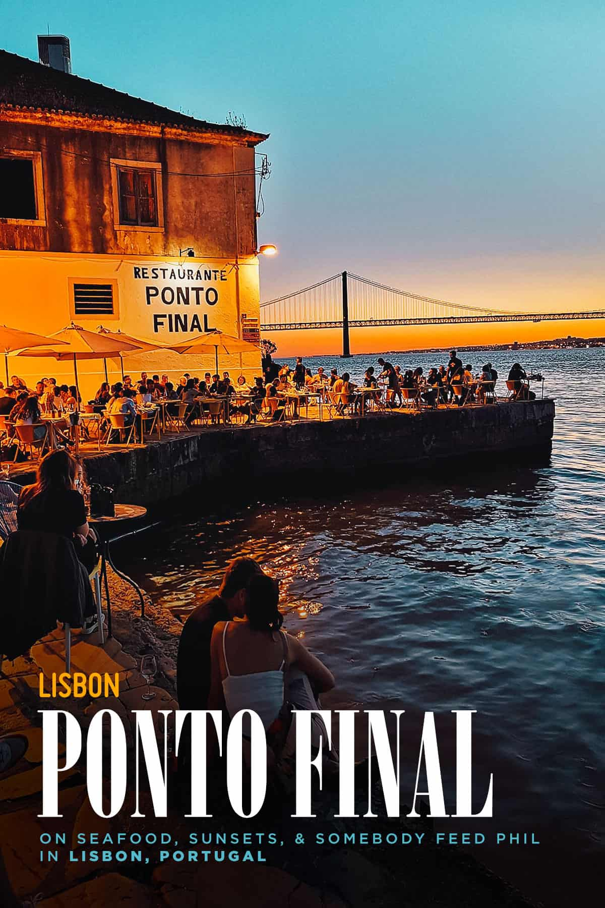 Ponto Final restaurant in Lisbon, Portugal
