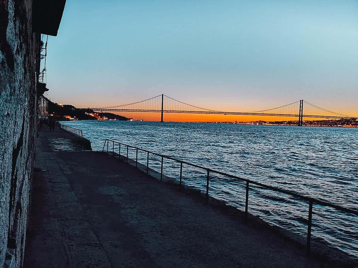 Ponto Final, Lisbon, Portugal
