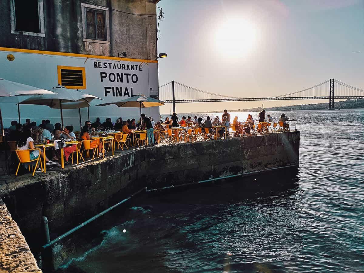 Ponto Final in Lisbon, Portugal
