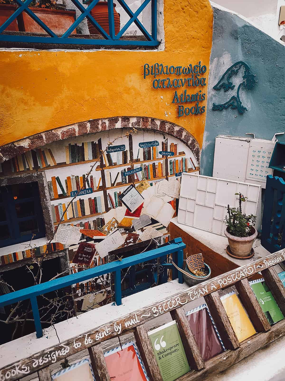 Atlantis Books, Oia, Santorini, Greece