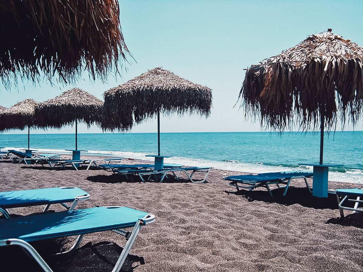 Beach in Santorini, Greece