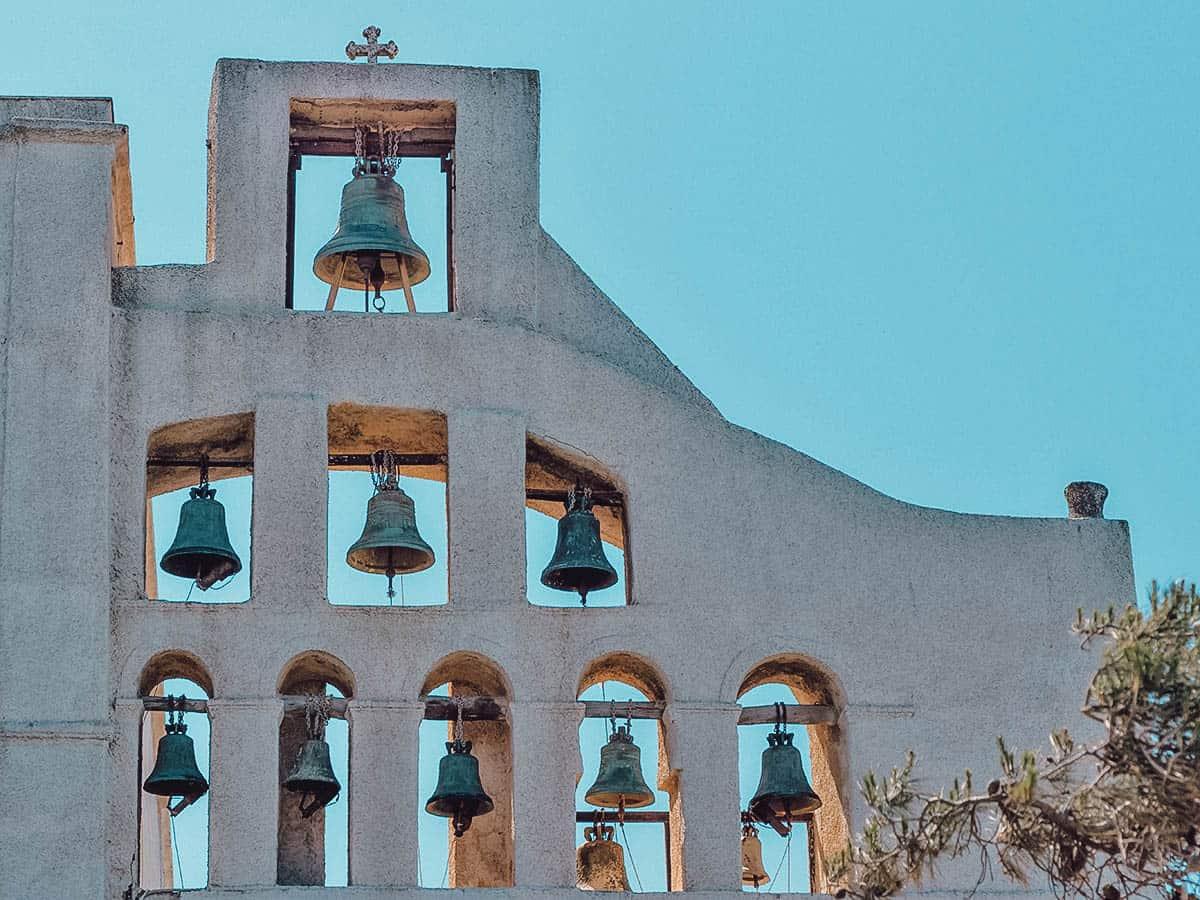 Prophet Elias Monastery, Santorini, Greece