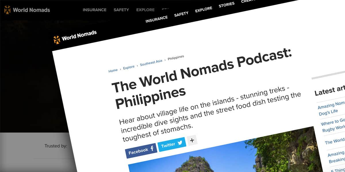 The World Nomads Podcast – Philippines