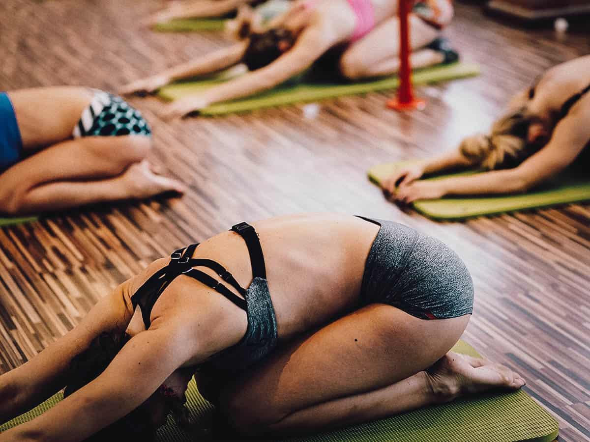 Yoga in Ubud, Bali, Indonesia