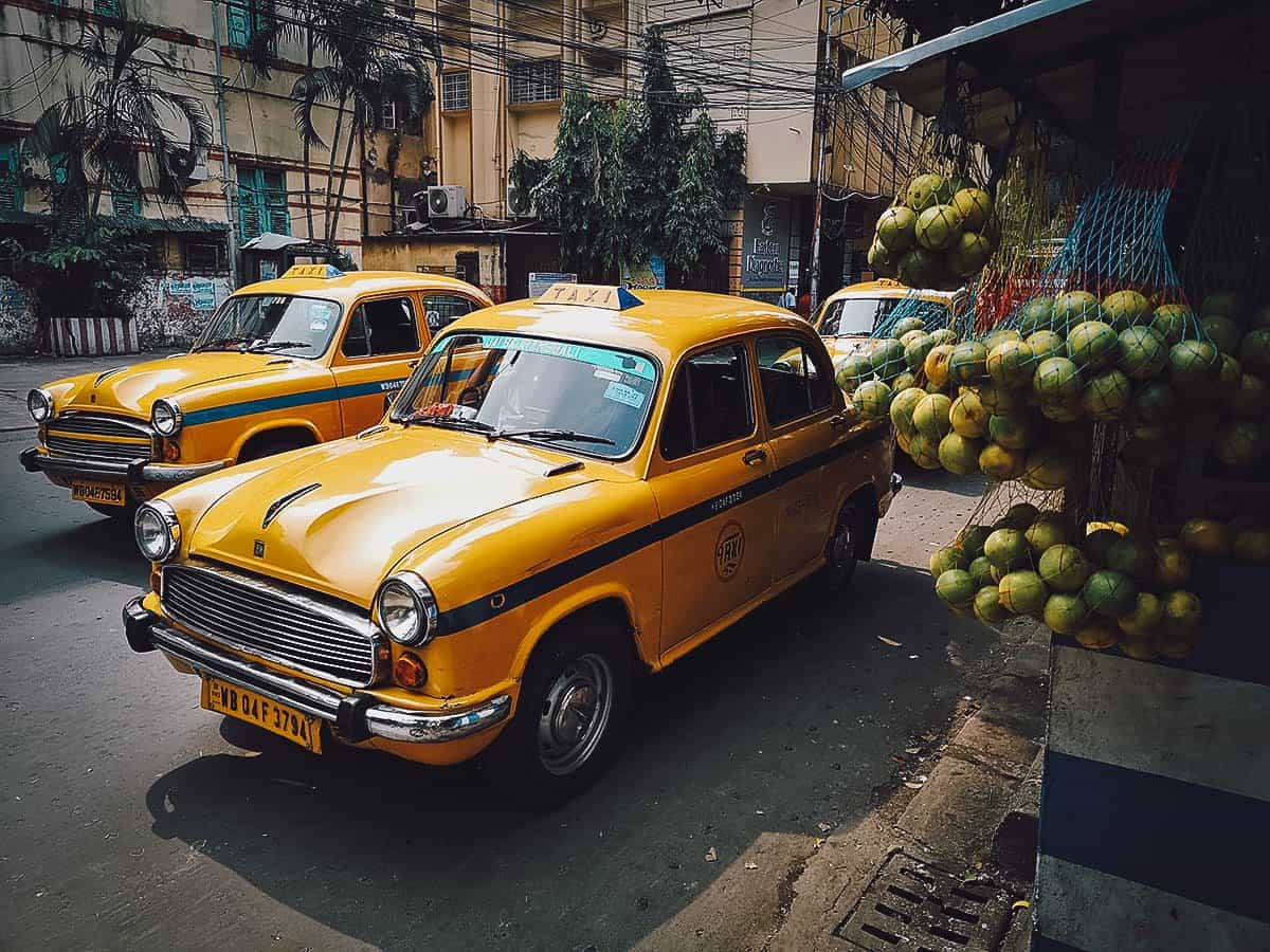 Ambassador Taxis, Kolkata, India