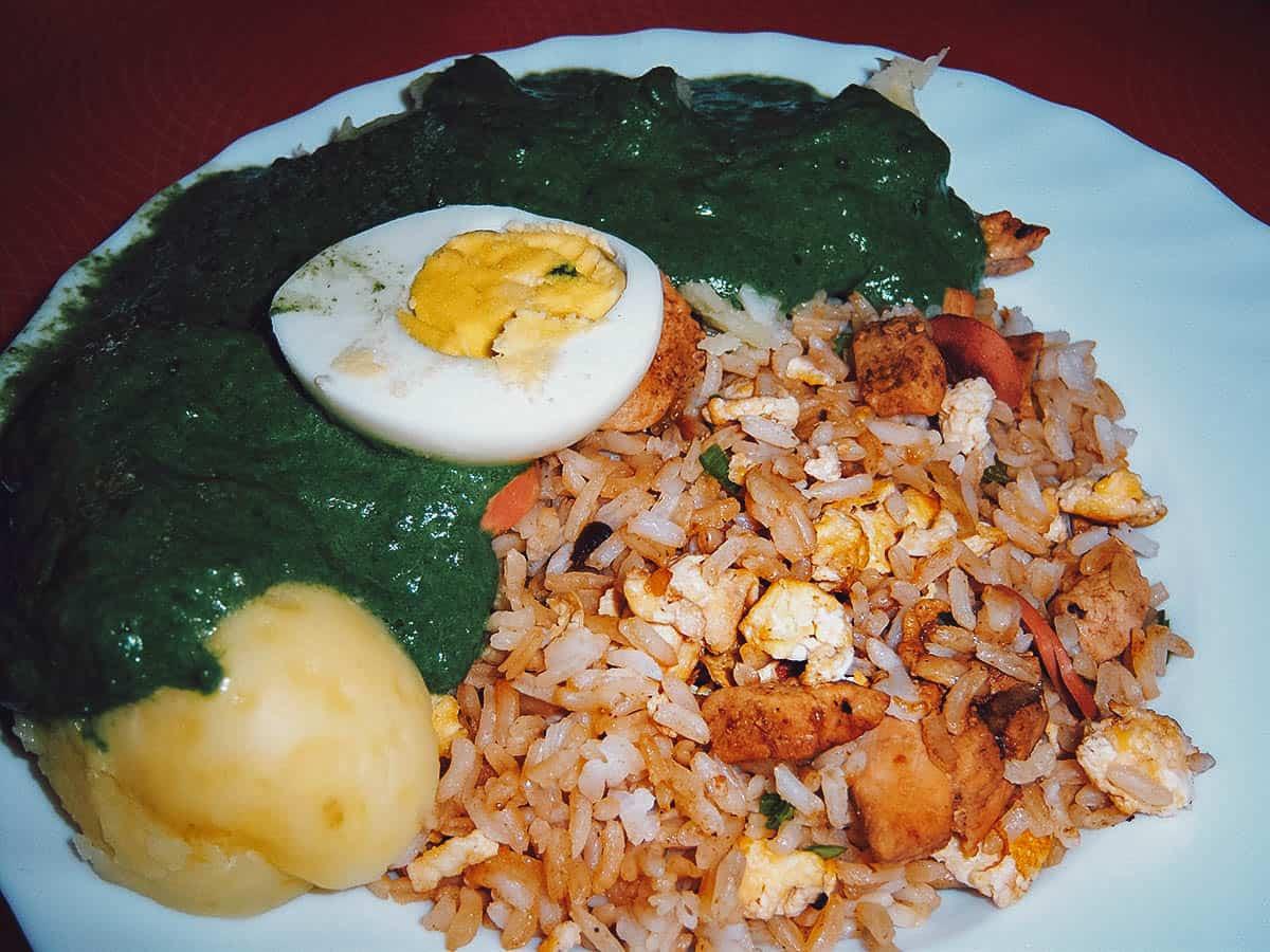 Peruvian fried rice