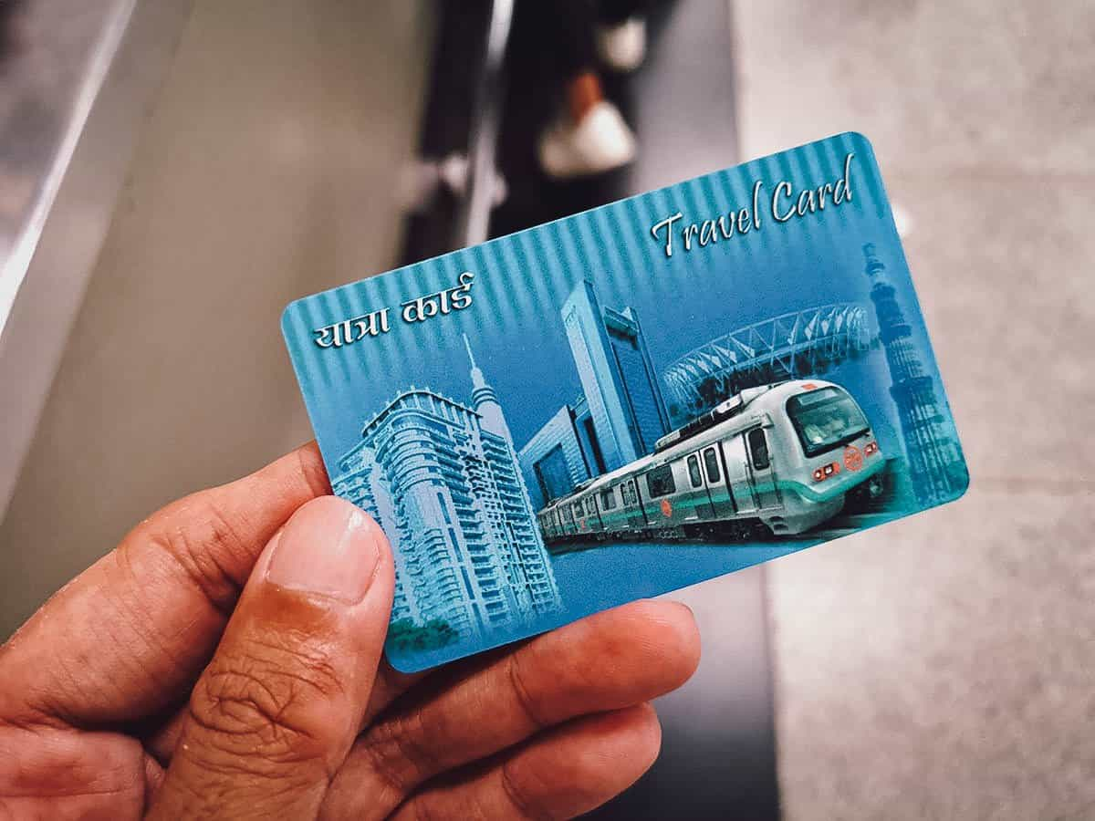 Delhi Metro Travel Card, India
