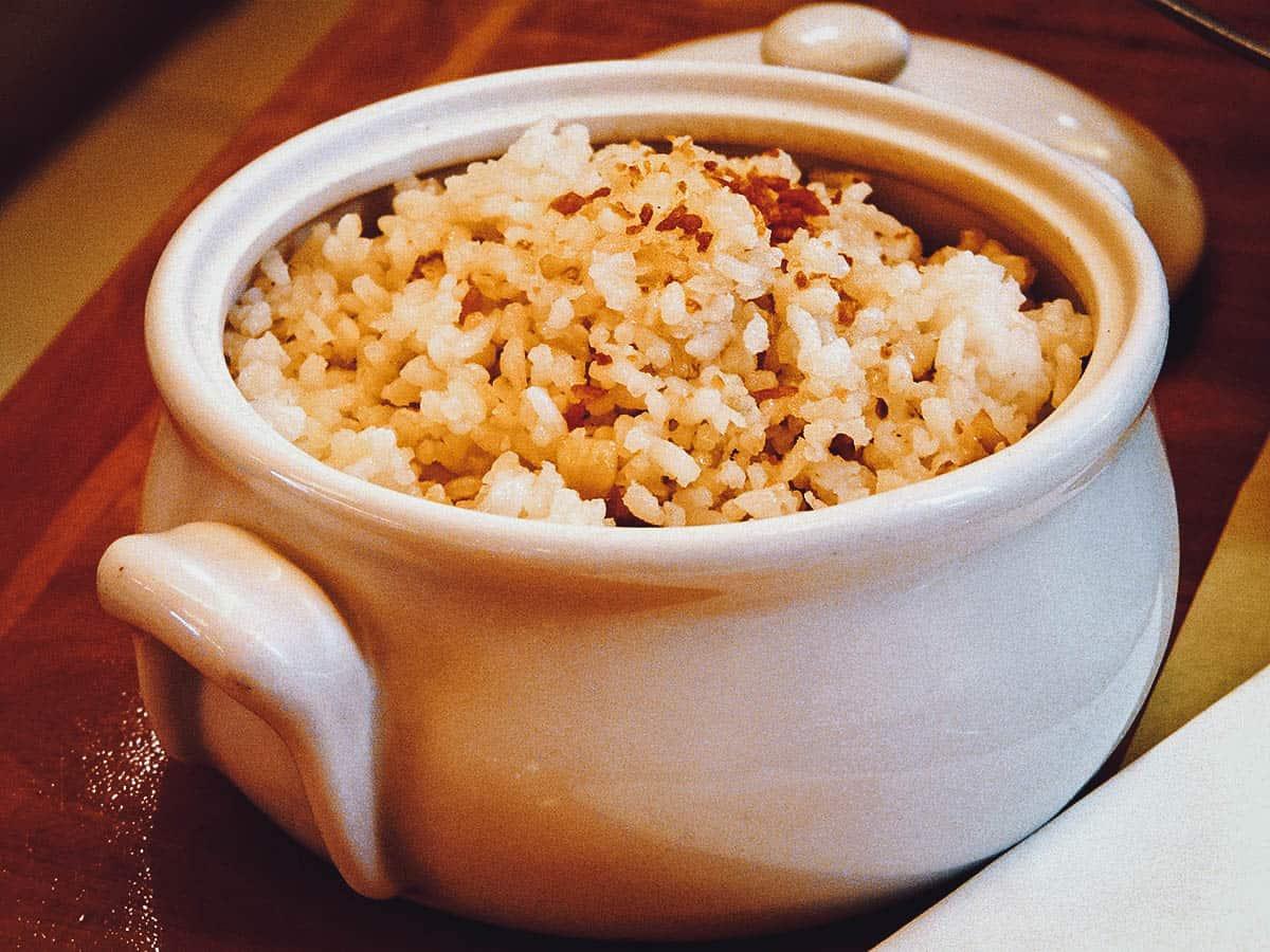 Filipino fried rice