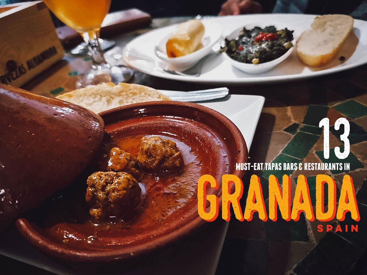 Granada Food Guide: 13 Must-Eat Tapas Bars & Restaurants in Granada, Spain