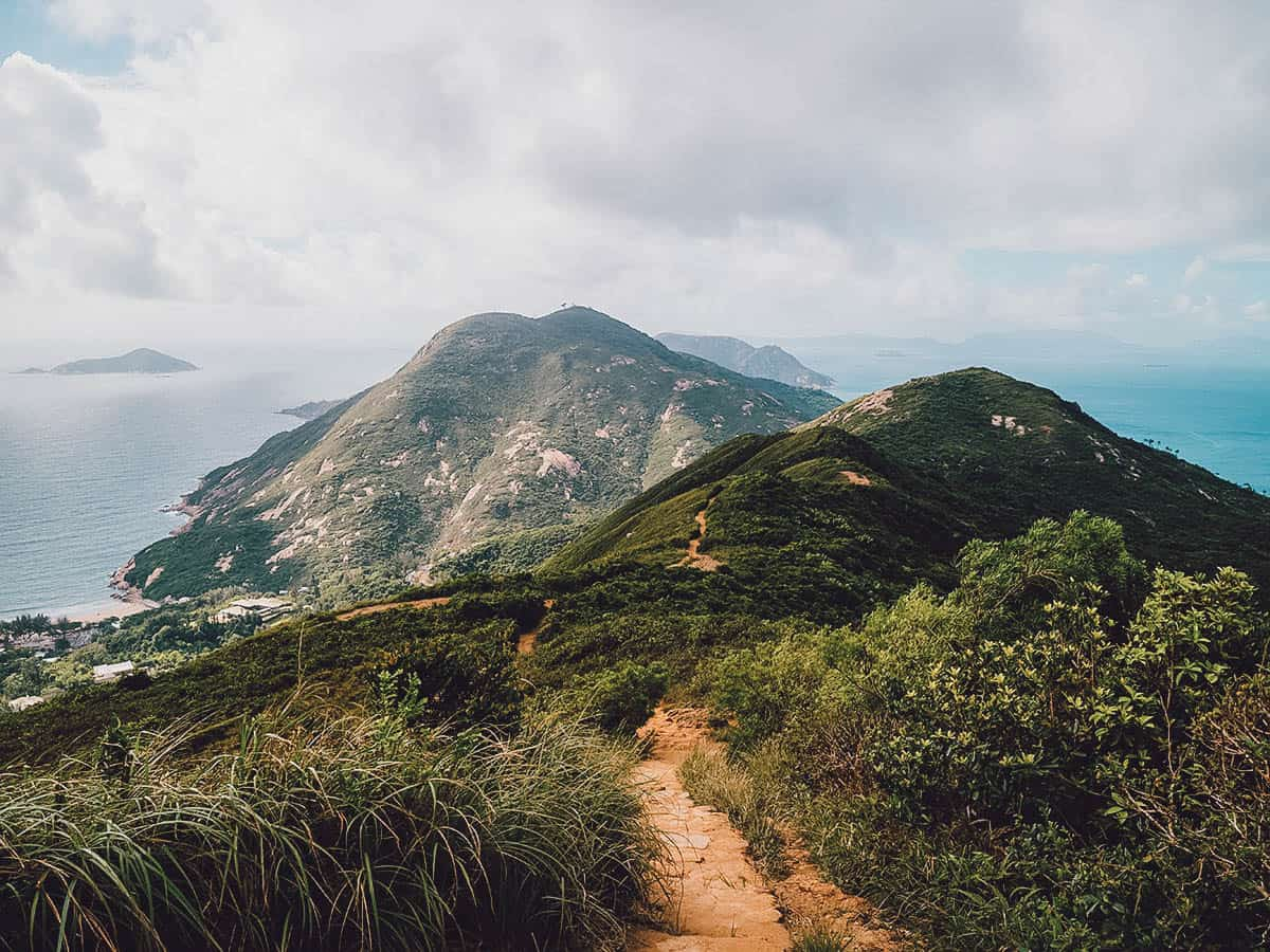 Hiking on the Dragon's Back in Hong Kong