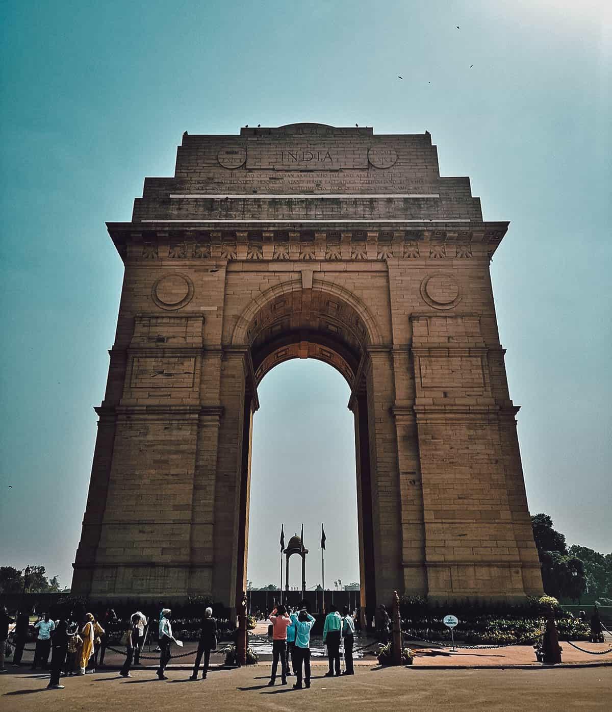 India Gate, Delhi, India