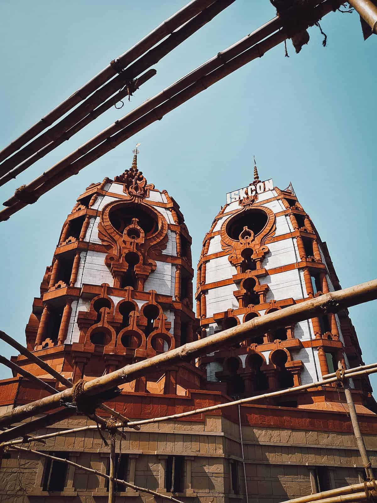 ISKCON Temple, Delhi, India
