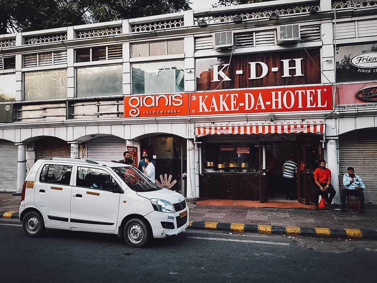 Kake Da Hotel, Delhi, India