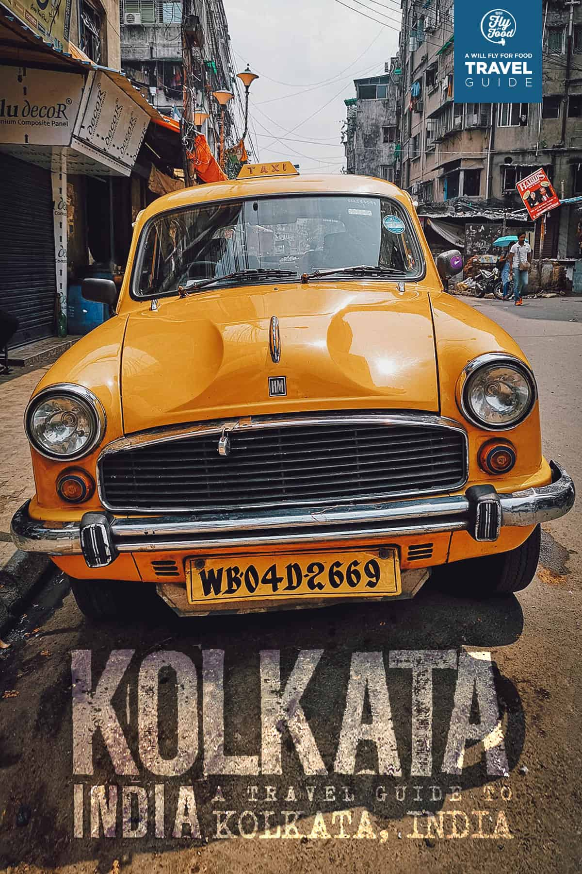 Ambassador taxi in Kolkata, India