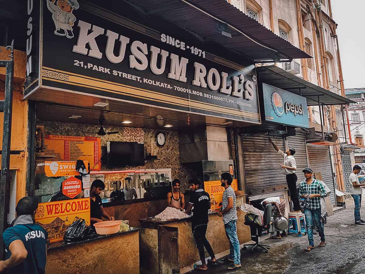 Kusum Rolls, Kolkata, India