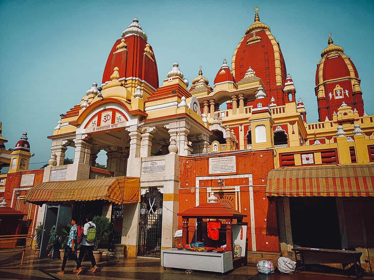 Laxminarayan Temple (Birla Mandir), Delhi, India