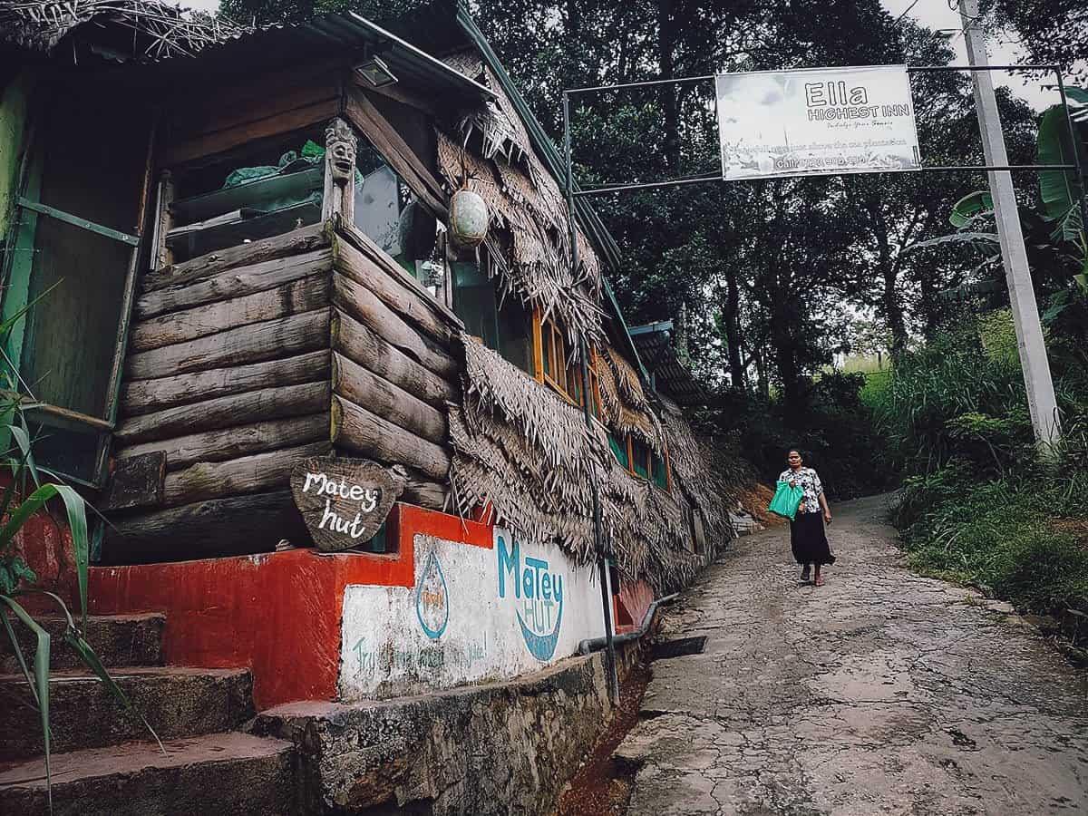 Matey Hut, Ella, Sri Lanka