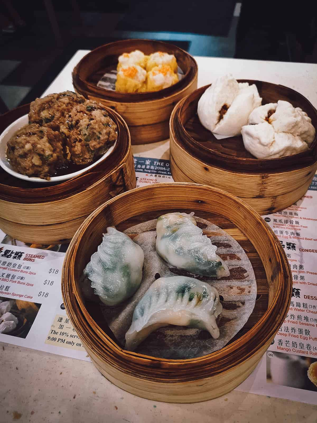 One Dim Sum in Hong Kong