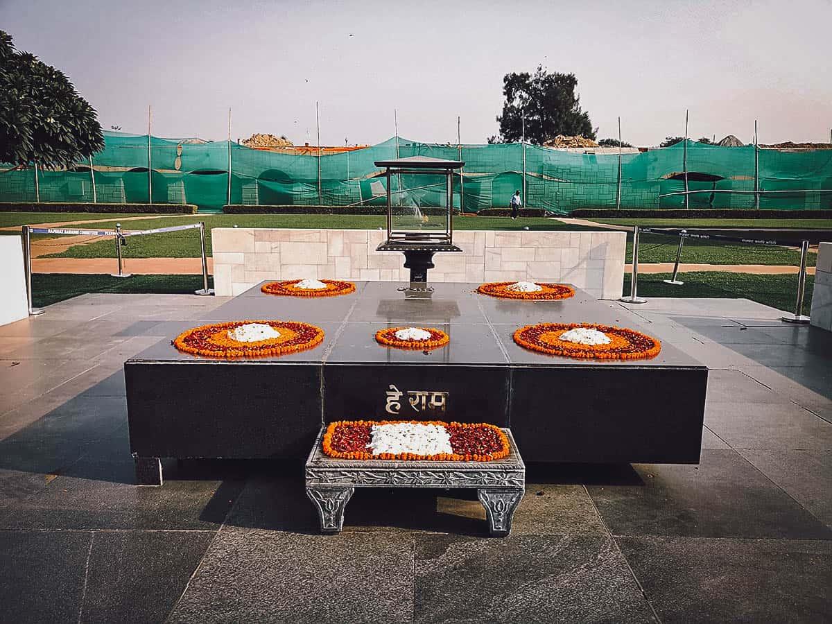 Raj Ghat Ghandi Memorial, Delhi, India