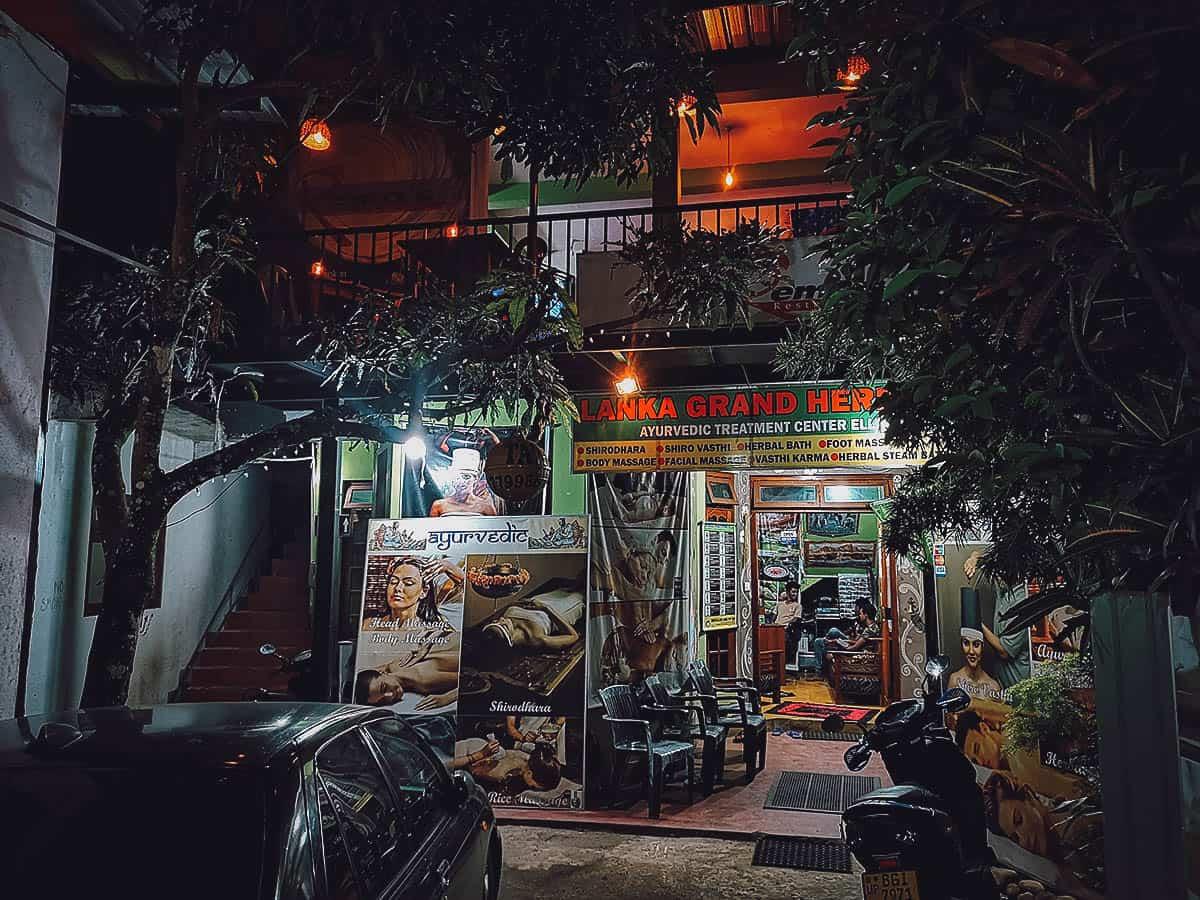 Remo's Restaurant, Ella, Sri Lanka