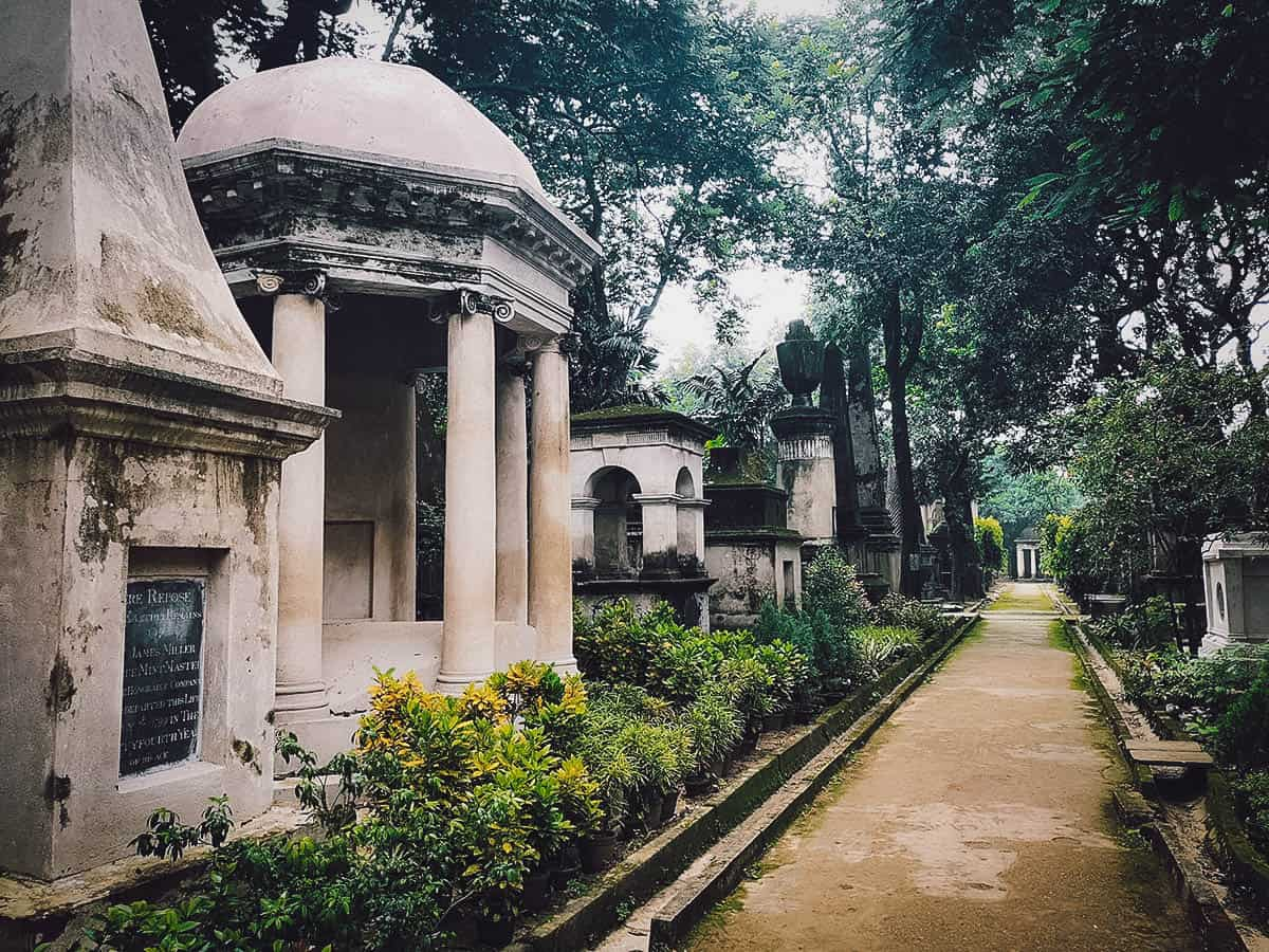 South Park Street Cemetery, Kolkata, India