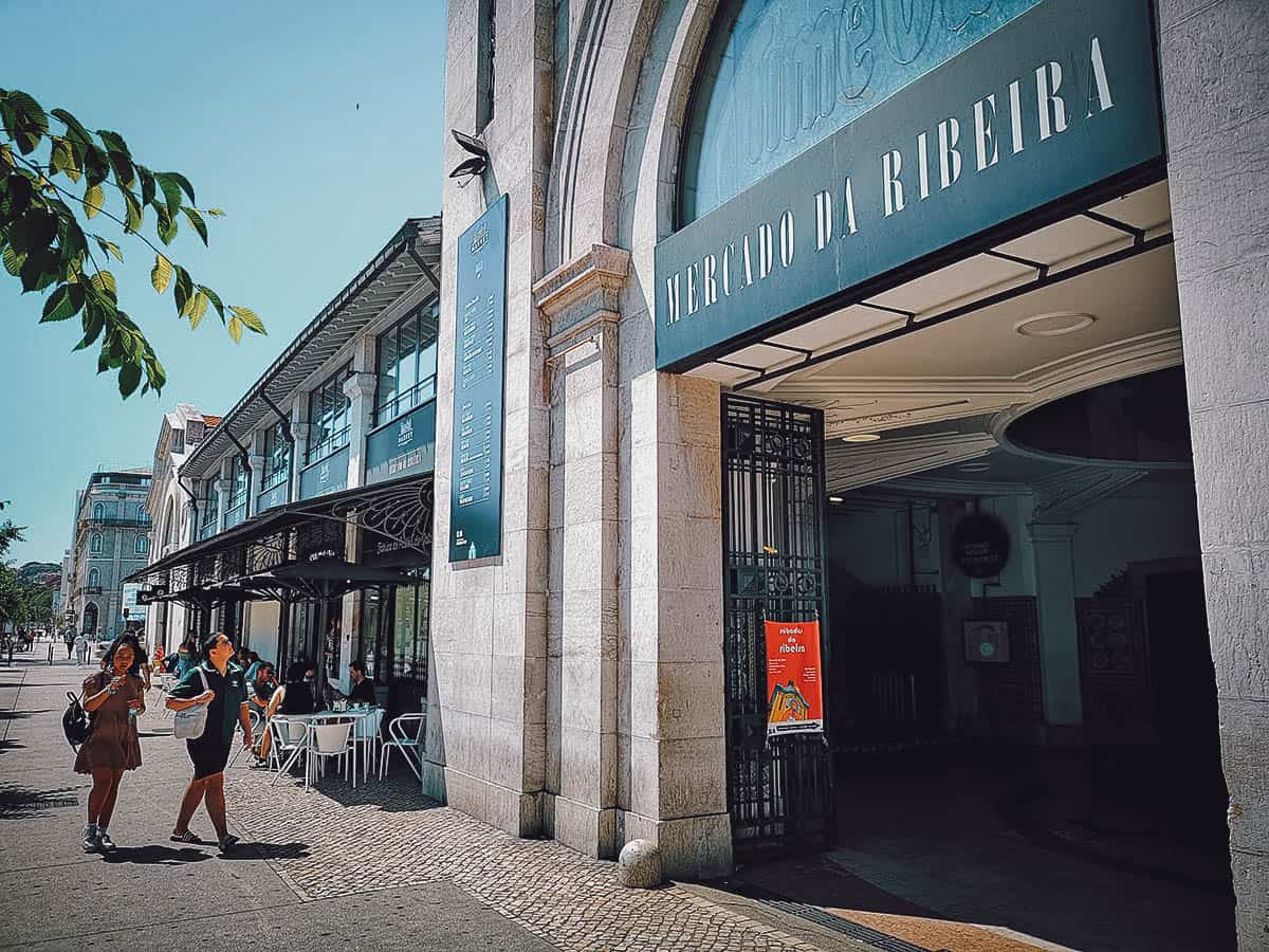 Time Out Market (Mercado da Ribeira), Lisbon, Portugal