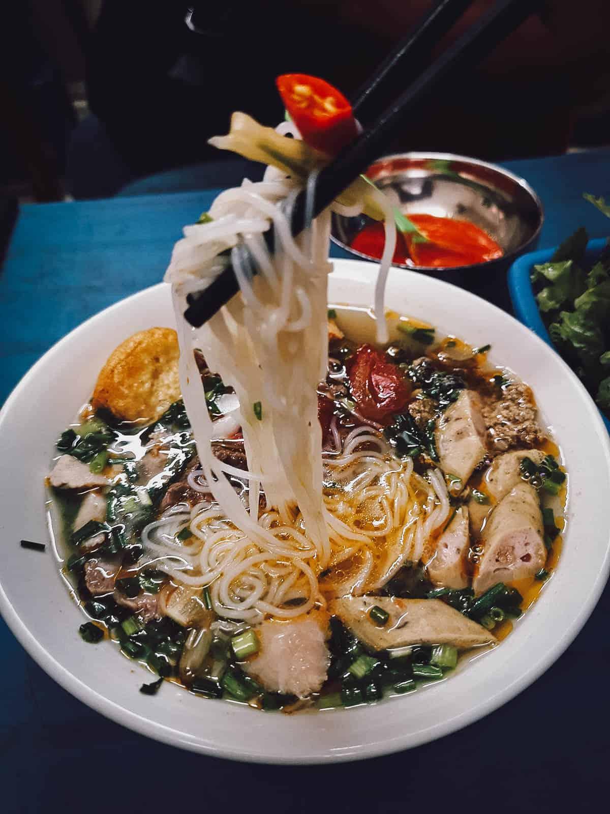 Bun rieu in Hanoi
