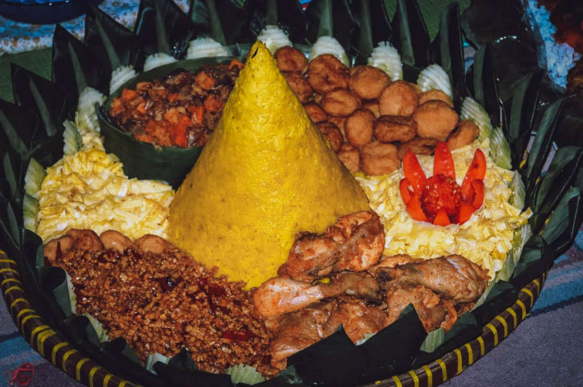 National Dish Quest: Tumpeng (Indonesia)