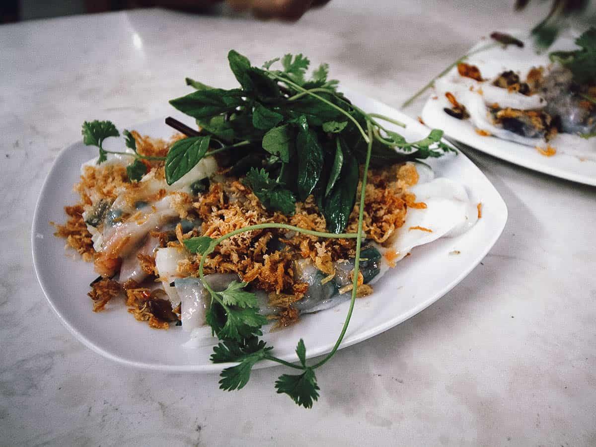 Banh cuon at Bánh Cuốn Gia Truyền Thanh Vân
