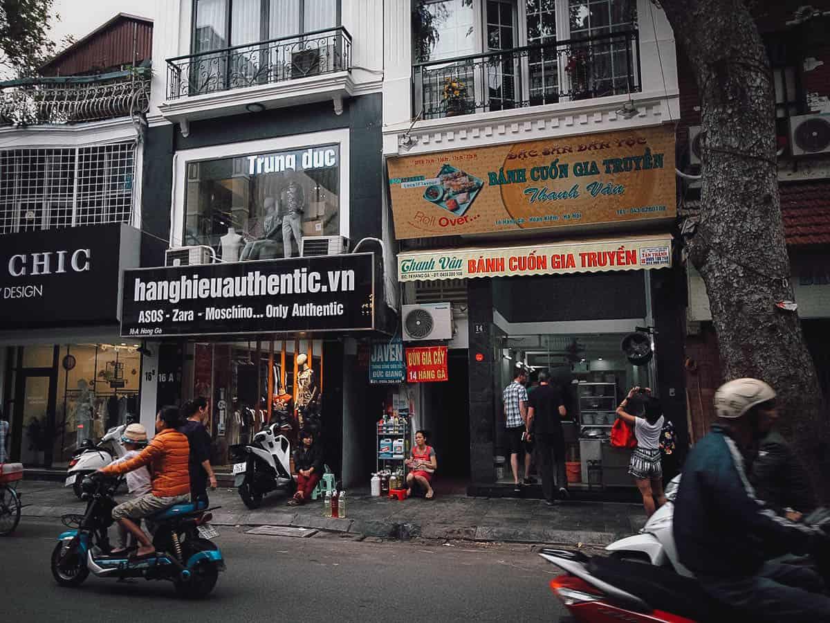 Bánh Cuốn Gia Truyền Thanh Vân shop