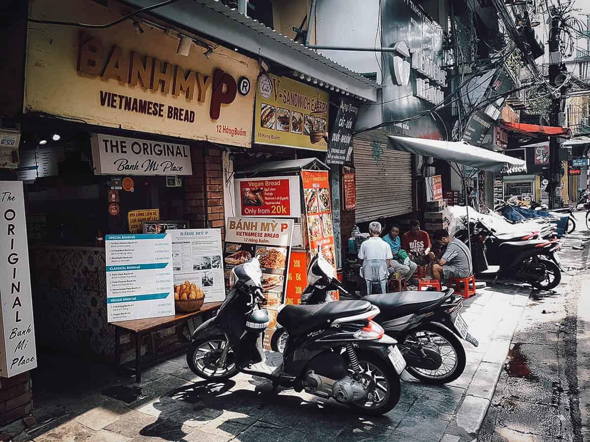 Bánh Mỳ P shop