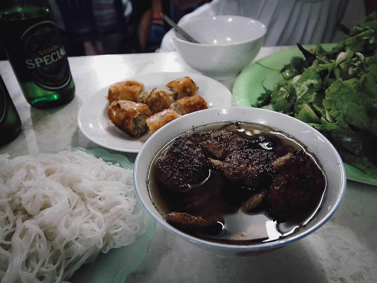 Bun cha at Bun Cha Dac Kim