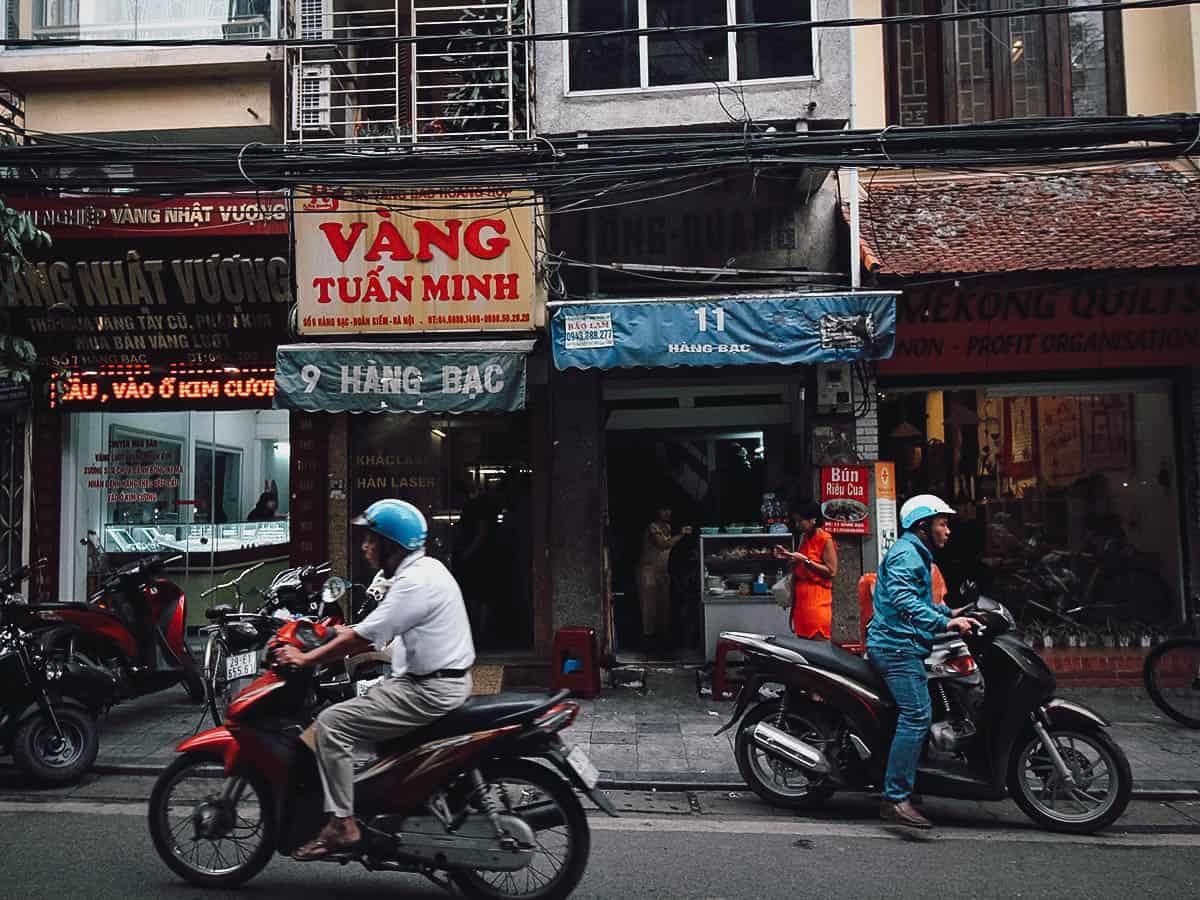 Bún Riêu Cua Hàng Bạc shop
