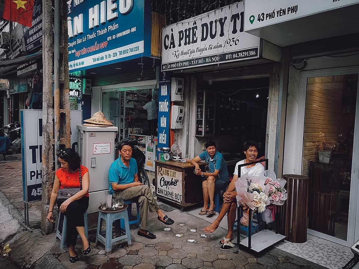 Ca Phe Duy Tri, Hanoi, Vietnam