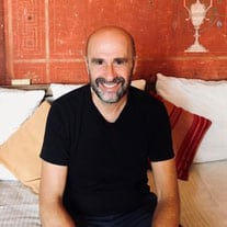 Christos Sourligas, author of My Big Fat Greek Cookbook