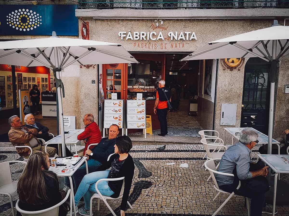 Frontage of Fabrica da Nata