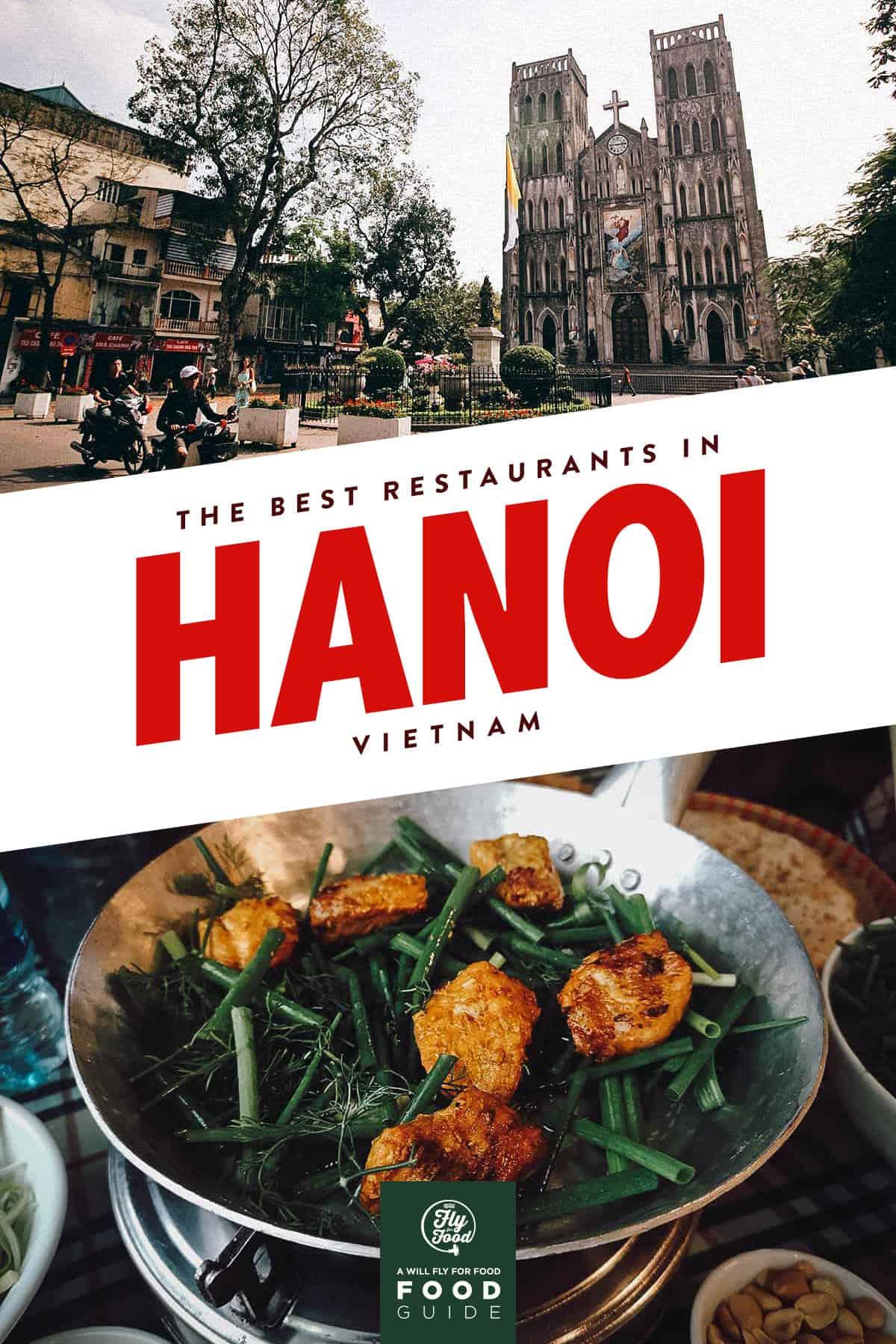 Cha ca in Hanoi, Vietnam