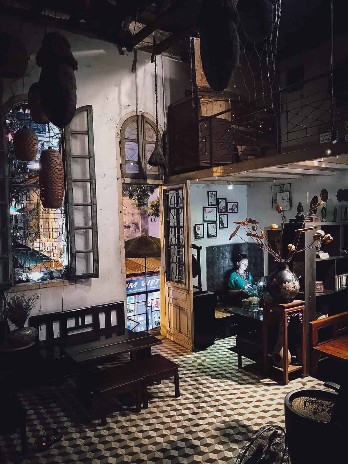 Hanoi House interior