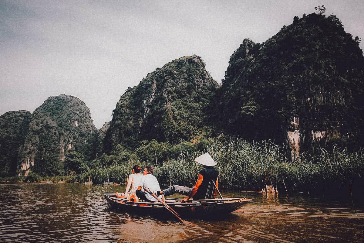 Hoa Lư and Tam Cốc, Ninh Binh Province, Vietnam