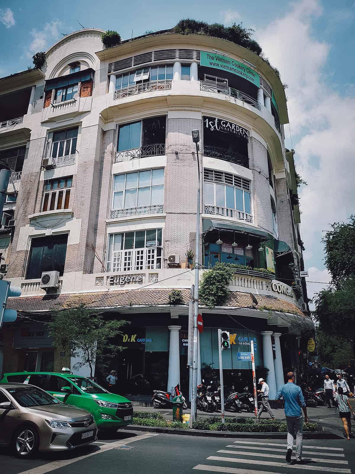 Black coffee at Bang Khuang Cafe