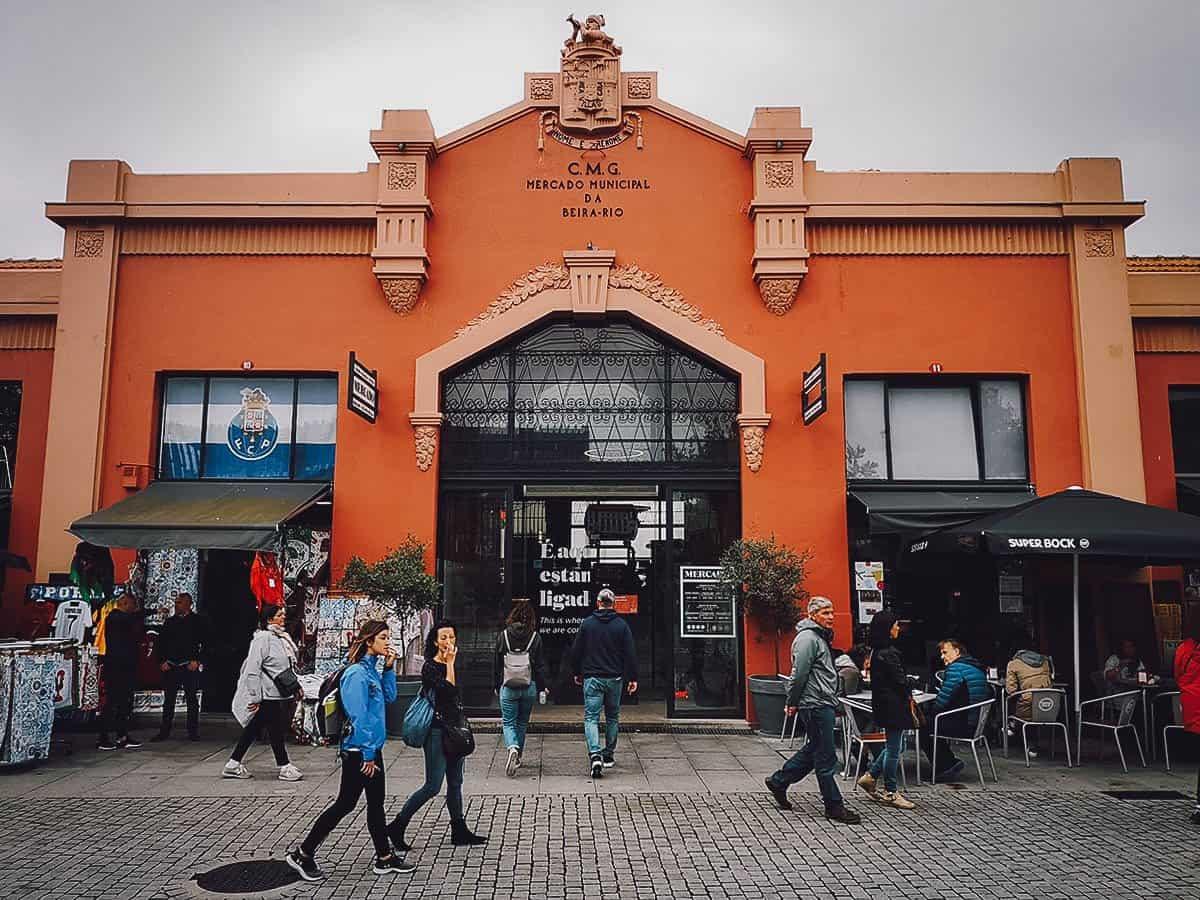 Facade of Mercado Beira-Rio