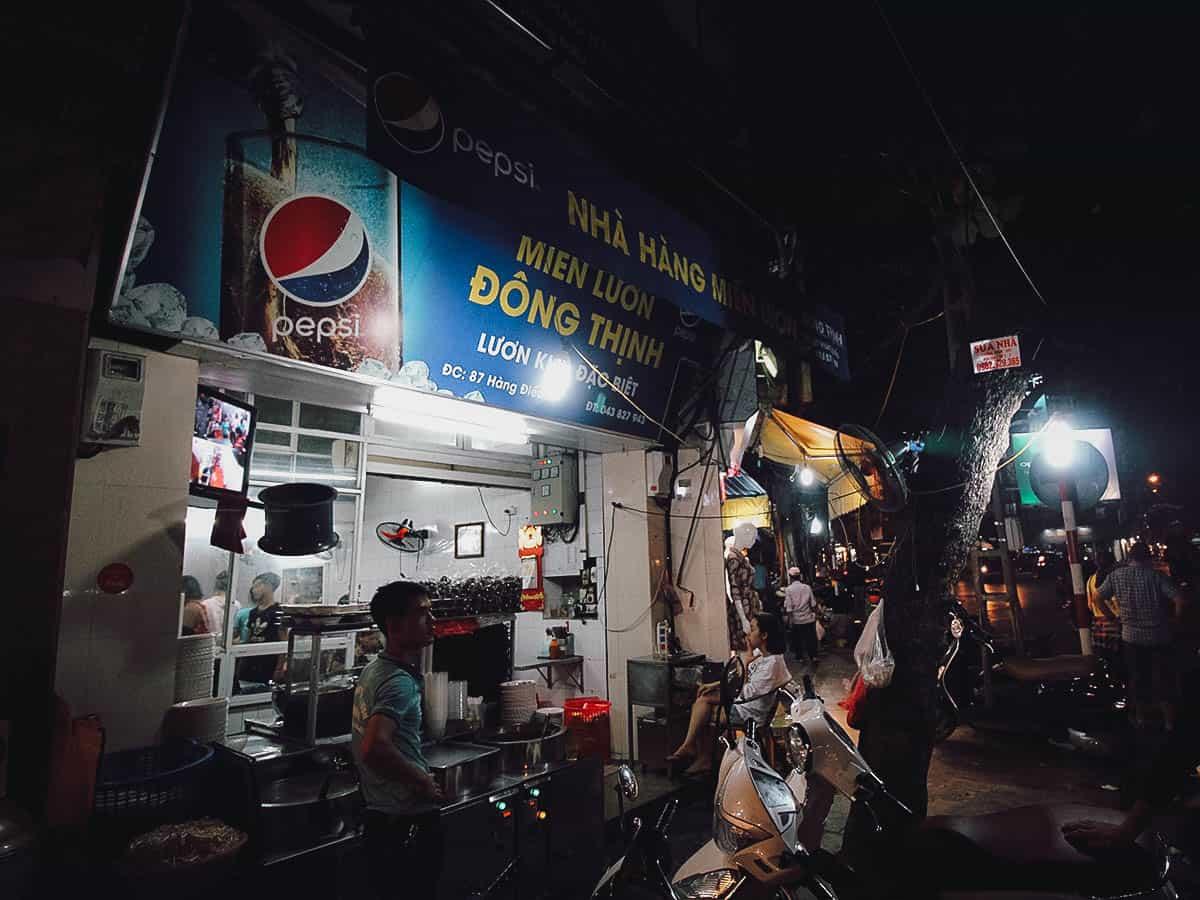 Dong Thinh Nha Hang Mien Luon shop