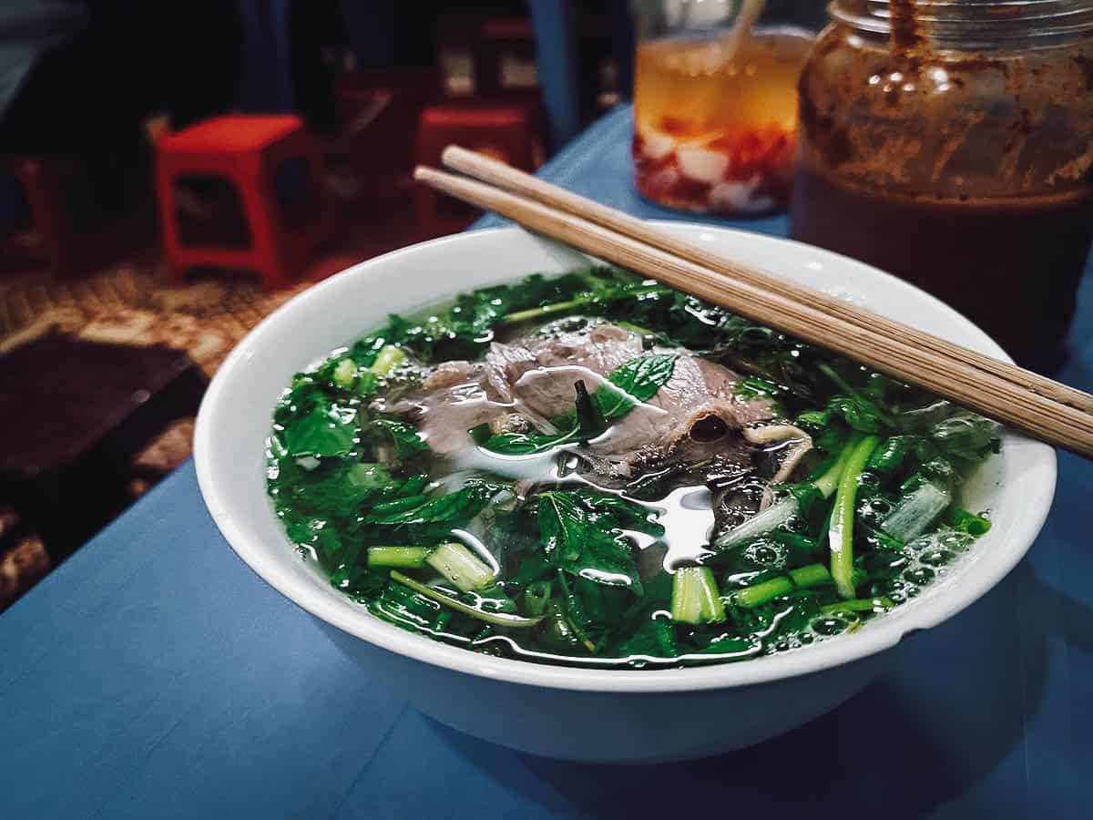 Pho at Pho Hang Trong