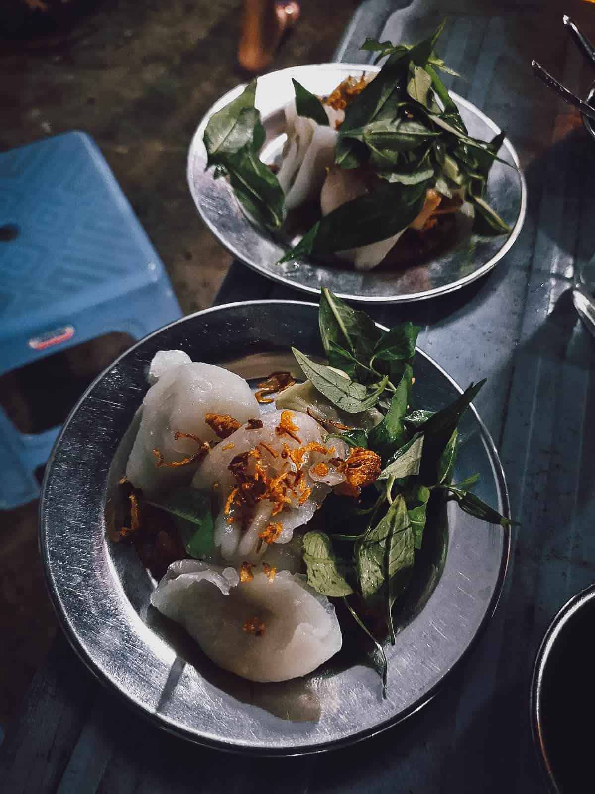 Vietnamese dumplings