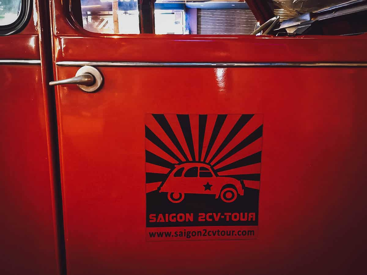 Saigon 2CV-Tour logo