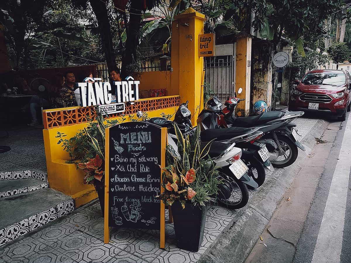 Tang Tret Cosmo Cafe, Hanoi, Vietnam