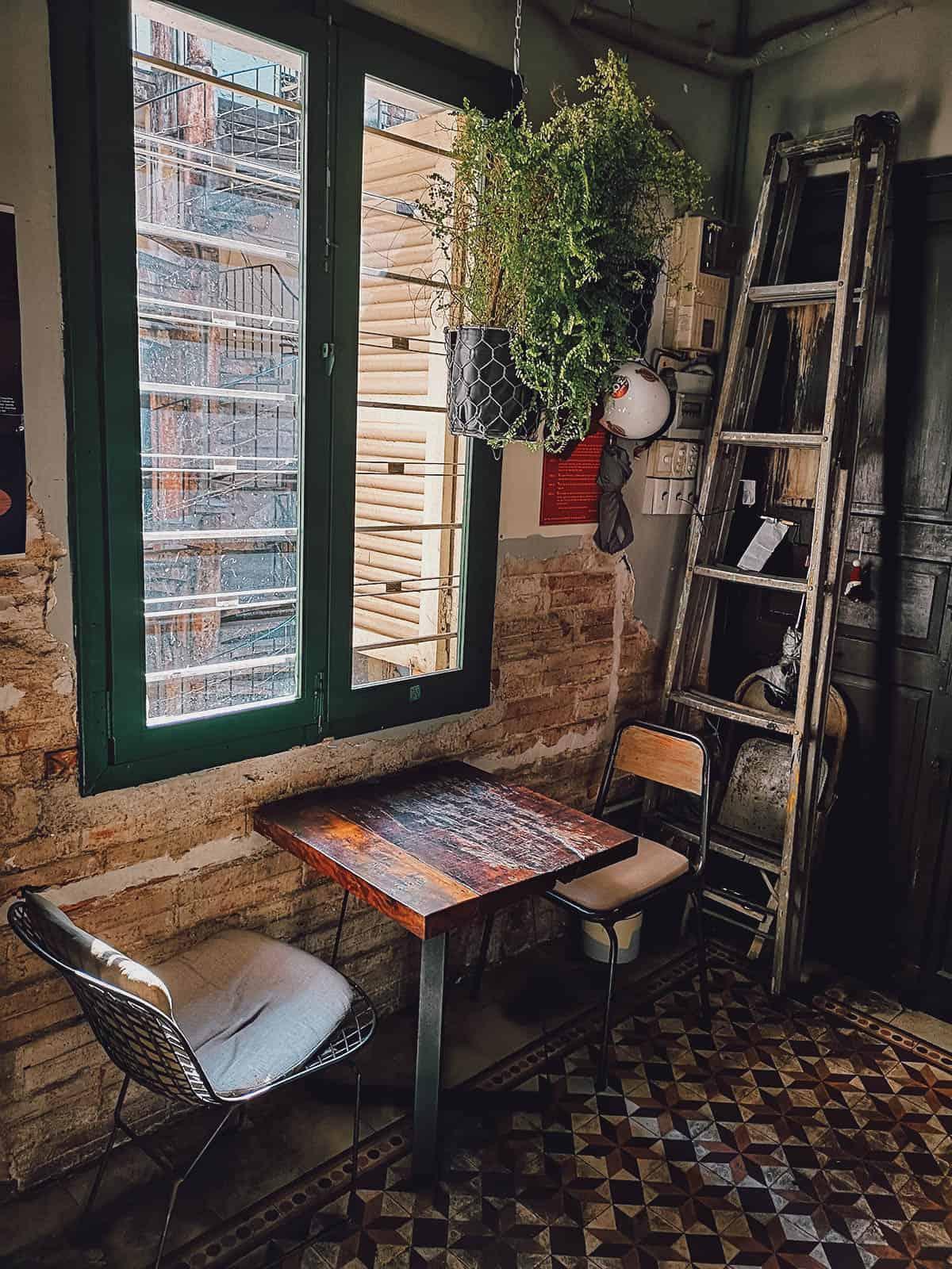 Bang Khuang Cafe interior