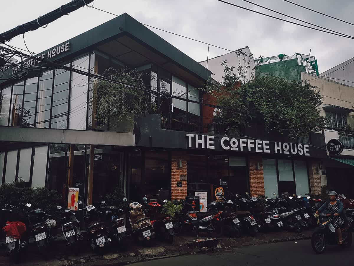 The Coffee House exterior